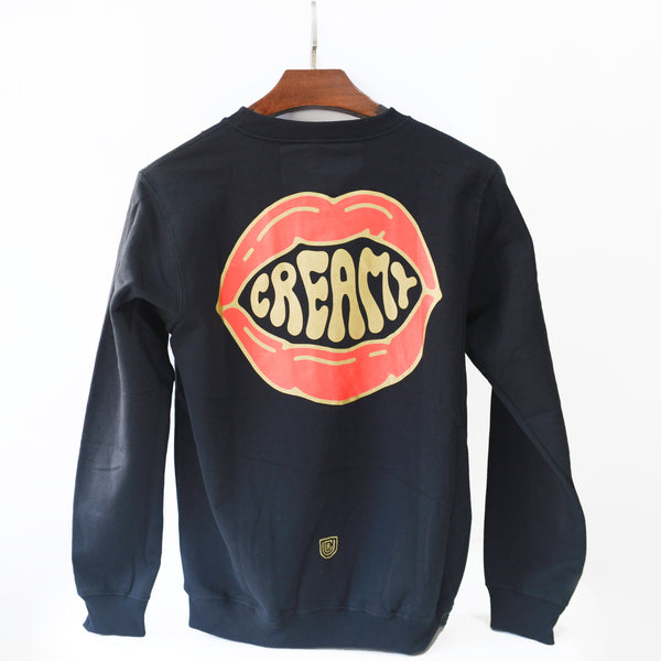 UCR CREAMY MOUTHFEEL SWEAT SHIRT (Black) - Urban Coffee Roaster