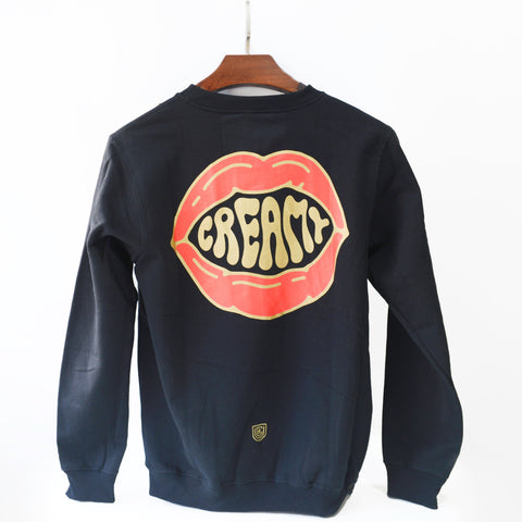 UCR CREAMY MOUTHFEEL SWEAT SHIRT (Black)