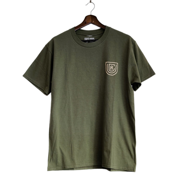 UCR A Good Day Starts With A Damn Fine Coffee T-SHIRT (Green) - Urban Coffee Roaster