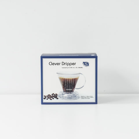 Mr. Clever Coffee Dripper and Filter paper (Small) Set - Urban Coffee Roaster