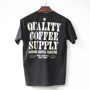 UCR Quality Coffee Supply T-SHIRT (Black) - Urban Coffee Roaster