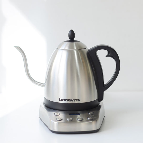 Bonavita Interurban 1.0L Stainless Steel Variable Temperature Kettle - Urban Coffee Roaster