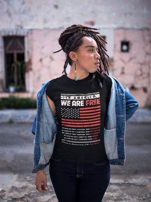"""America Is NOT Free"" - T-Shirt (Unisex)"