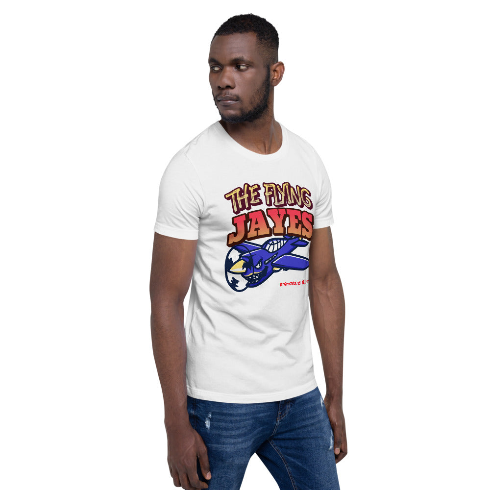 """The Flying Jayes"" Animated Series - Unisex - T-Shirt"