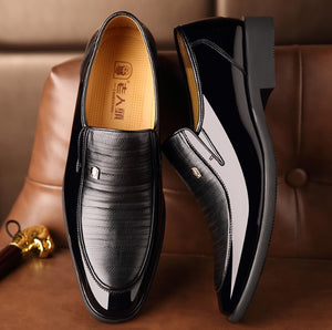 Elegant Matured Men's Leather Shoes-Sh-4