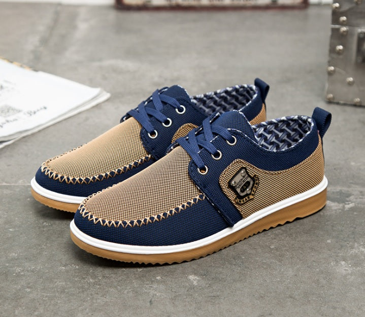 Classy Hardworker Comfortable Breathable Sneakers/Canvas Shoes-Sh-26