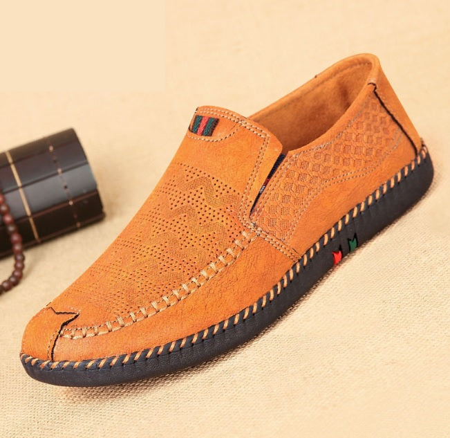 Sweet Slip On Casual Men's Loafers-Sh-b2