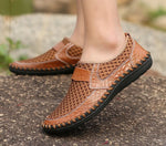 Breathable Summer Mesh Slip On Men's Casual Shoes-Sh-17
