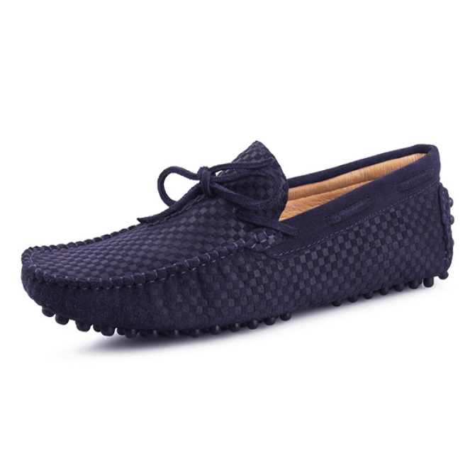 Men's Casual Suede Handmade Velvet Loafers--CS-4