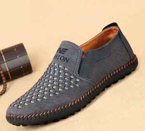 Casual Men's Breathable Driving Slip-On Loafers-Sh-b3