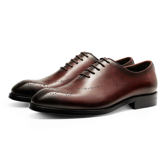 High Class British Men's Shoes With Lace-Sh-2