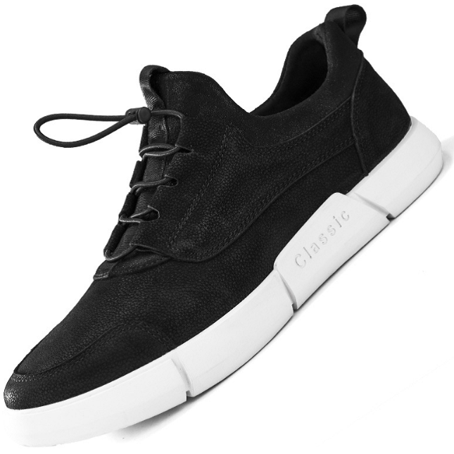 Classic First Layer Leather Fashion Sports Shoes--SPS-6