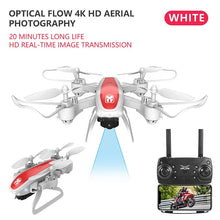 Load image into Gallery viewer, Drone KY909 HD 4K WiFi video live fpv drone light flow keep height quad-axis aircraft one-button take-off drone with camera
