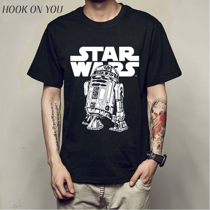 Men's STAR WARS Tshirt BB8 Robot - Cotton, Hook on You Brand