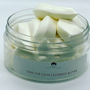TIME FOR CALM LAVANDER BODY  BUTTER