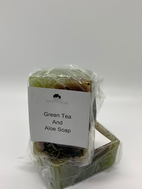 Green Tea And Aloe Soap