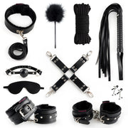 BDSM Bed Restraints 10 Pcs Set
