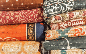Double Kantha Quilts