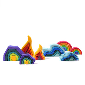 Element rainbow Small 6 pcs