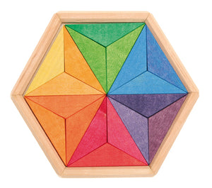 Mini Puzzle Complementary Colours Star