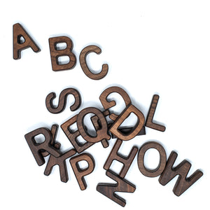 Uppercase Letters A-Z