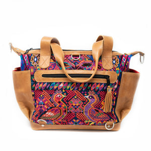 Huipil Convertible Day Bag