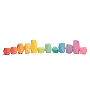 Stones Coloured (12pcs)
