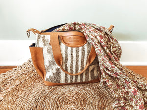 Wool Convertible Day Bag