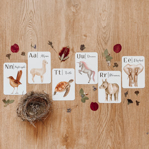 """Nature's ABC"" Flashcards"