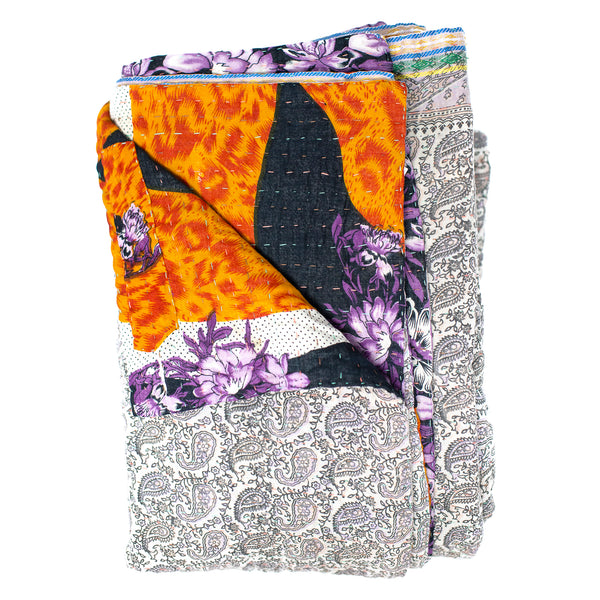 Double Kantha Quilt