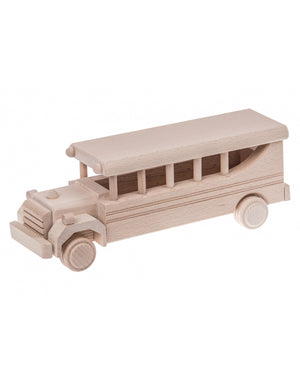 Wooden Retro Bus