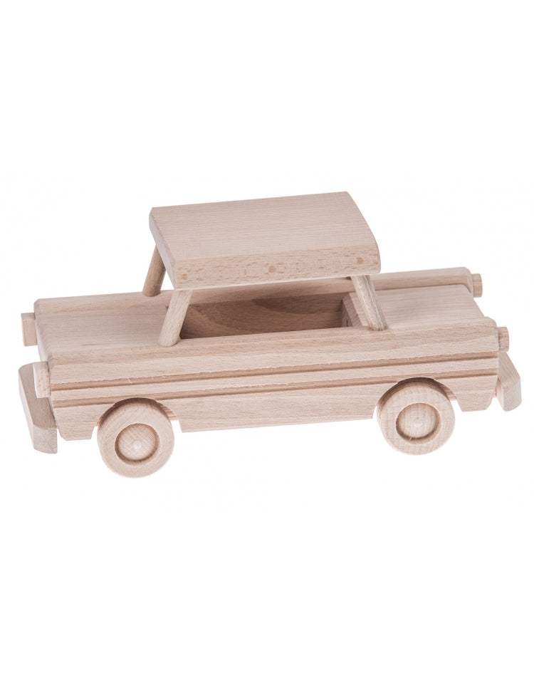 Wooden Toy Car