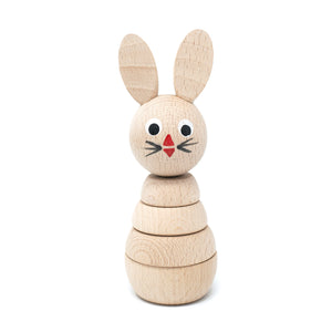 Wooden Stacking Bunny