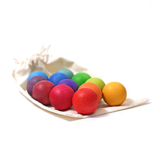 Balls Rainbow, Small 12pcs