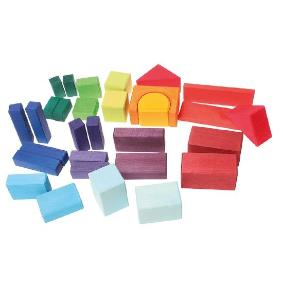 Blocks Geometrical, 30 pcs