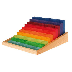 Learning - Stepped Counting Blocks, 2cm thick