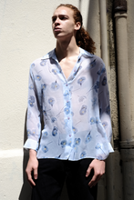 Load image into Gallery viewer, 90s Flower Print Sheer Shirt