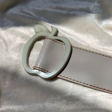 "Load image into Gallery viewer, Vintage Grey ""Apple"" Belt"