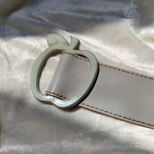 "Vintage Grey ""Apple"" Belt"