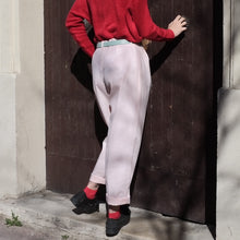 "Load image into Gallery viewer, Vintage Baby Pink ""Mum"" Trousers"