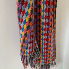 Load image into Gallery viewer, Vintage Crochet Scarf
