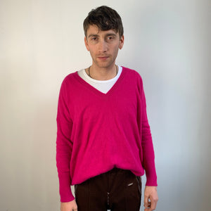 Vintage V-neck Jumper