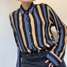 Load image into Gallery viewer, Vintage Unisex Vertical Stipe Jersey Shirt