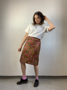 Vintage Patterned Skirt