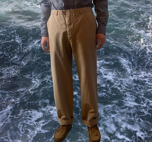 Vintage 80s Burberry's Beige Chino Trousers