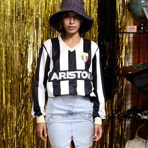Vintage 80s Juventus Football Top