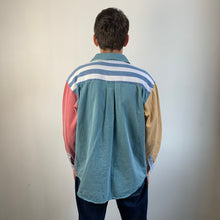 Load image into Gallery viewer, Vintage Striped Denim Shirt