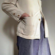 Load image into Gallery viewer, Vintage Linen Jacket