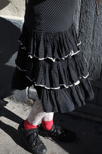 Vintage Ruffle Grunge Dress