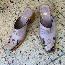 Load image into Gallery viewer, Vintage 00's Y2K western mules